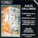 "Aulis Sallinen: Symphony No. 4; Shadows; Symphony No. 5 ""Washington Mosaics"""
