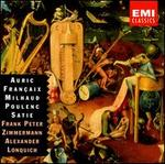Auric, Fran�aix, Milhaud, Poulenc, Satie