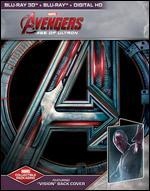 Avengers: Age of Ultron [Includes Digital Copy] [3D] [Blu-ray] [Only @ Best Buy] [Vision SteelBook]