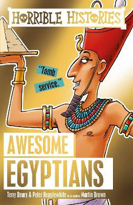 Awesome Egyptians - Deary, Terry, and Hepplewhite, Peter