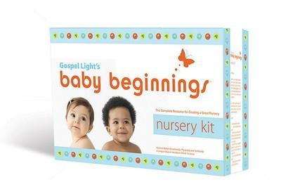 Baby Beginnings Nursery Kit: The Complete Resource for Creating a Great Nursery - Gospel Light