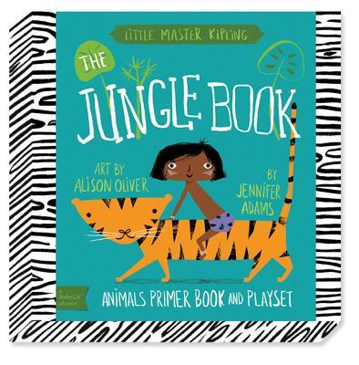 Babylit Jungle Book Playset: Animal Primer Book and Playset - Oliver, Alison
