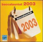 Baccalauréat 2003