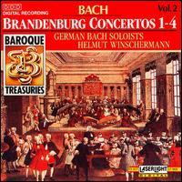 Bach: Brandenburg Concertos Nos. 1-4 - Ab Koster (horn); Atsuko Matsuyama (oboe); Christian Altenburger (violin); Christoph Henkel (cello); Erno Sebestyen (violin);...