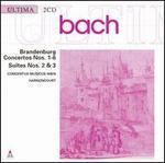 Bach: Brandenburg Concertos Nos. 1-6; Suites Nos. 2 & 3 - Concentus Musicus Wien; Nikolaus Harnoncourt (conductor)