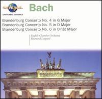 Bach: Brandenburg Concertos Nos 4, 5 & 6 - David Munrow (recorder); John Turner (recorder); Jose-Luis Garcia (Asensio) (violin); Raymond Leppard (harpsichord);...