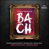 Bach: Brandenburgische Konzerte; Orchestersuiten; Kammermusik - Andreas Staier (cembalo); David Reichenberg (baroque oboe); Gabrieli Players; Geoffrey Shaw (bass);...