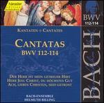 Bach: Cantatas, BWV 112-114