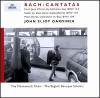 Bach: Cantatas, BWV 113, 179, 199 - English Baroque Soloists; Magdalena Ko?ená (soprano); Mark Padmore (tenor); Stephan Loges (bass);...