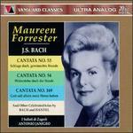 Bach: Cantatas Nos. 53, 54 & 169