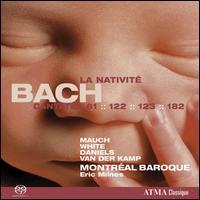 Bach: Cantatas Nos. 61, 122, 123 & 182  - Charles Daniels (tenor); Harry van der Kamp (bass); Matthew White (alto); Monika Mauch (soprano); Montréal Baroque Orchestra;...