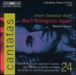 Bach: Cantatas, Vol. 24 - BWV 8, 33, 113