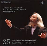 Bach: Cantatas, Vol. 35 - BWV 74, 87, 128, & 176 - Makoto Sakurada (tenor); Peter Kooij (bass); Robin Blaze (counter tenor); Yukari Nonoshita (soprano);...