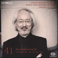 Bach: Cantatas, Vol. 41: Der Fried sei mit dir - Cantatas 56, 82, 84, 158 - Bach Collegium Japan; Carolyn Sampson (soprano); Hana Blaziková (soprano); Masamitsu San'nomiya (oboe);...