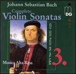 Bach: Complete Violin Sonatas, Vol. 3: BWV 964, 968, 1019a, 1025