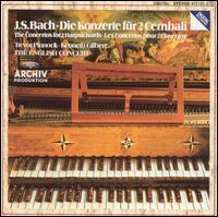 Bach: Die Konzerte f?r 2 Cembali - English Consort; Kenneth Gilbert (cembalo); Trevor Pinnock (cembalo)