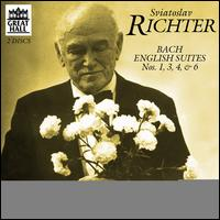 Bach: English Suites Nos. 1, 3, 4, 6 - Sviatoslav Richter (piano)