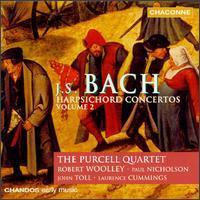 Bach: Harpsichord Concertos, Vol.2 - Catherine Mackintosh (violin); Catherine Weiss (violin); Jane Rogers (viola); John Toll (harpsichord);...