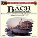 Bach: Italian Concerto; Partita 1, BWV 825; Toccata in D, BWV 912; Orchestra Suite, BWV 1069