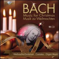 Bach: Music for Christmas - Annelies Burmeister (contralto); Arleen Augér (soprano); Bas Ramselaar (bass); Knut Schoch (tenor); Marcel Beekman (tenor);...