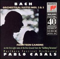 Bach: Orchestral Suites Nos. 2 & 3 - Alexander Heller (bassoon); Alexander Schneider (violin); Barbara Wilson (double bass); Bonnie Hampton (cello);...