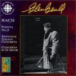 Bach: Partita No. 5; Sinfonias; Italian Concerto; Concerto