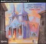 Bach Piano Transcriptions, Vol. 3