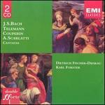 Bach, Scarlatti, Telemann: Cantatas - Annelies Kupper (soprano); Aurèle Nicolet (flute); Dietrich Fischer-Dieskau (baritone); Dietrich Fischer-Dieskau (baritone);...
