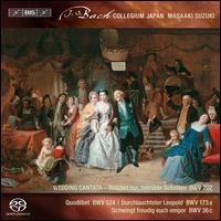 Bach: Secular Cantatas, Vol. 3 - Bach Collegium Japan; Hiroya Aoki (counter tenor); Joanne Lunn (soprano); Makoto Sakurada (tenor);...