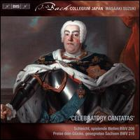 Bach Secular Cantatas, Vol. 8: Celebratory Cantatas - Charles Daniels (tenor); Hana Blaziková (soprano); Hiroya Aoki (counter tenor); Roderick Williams (bass);...