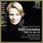 Bach: Solo Cantatas BWV 35, 169, 170