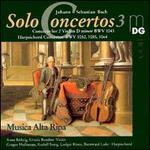 Bach: Solo Concertos Vol. 3