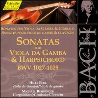 Bach: Sonatas for Viola da Gamba & Harpsichord, BWV 1027-1029 - Hille Perl (viola da gamba); Michael Behringer (harpsichord)