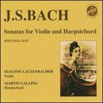Bach: Sonatas for Violin & Harpsichord, BWV 1014-1019