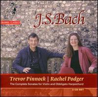 Bach: Sonatas for Violin & Keyboard - Jonathan Manson (viola da gamba); Rachel Podger (violin); Trevor Pinnock (harpsichord)