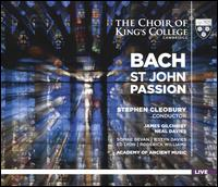 Bach: St. John Passion [2016 Recording] - Benedict Kearns (vocals); Ed Lyon (tenor); Iestyn Davies (alto); James Gilchrist (vocals); Neal Davies (vocals);...