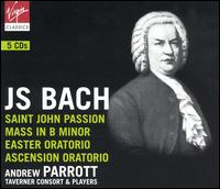 Bach: St. John Passion; Mass in B Minor; Easter Oratorio; Ascension Oratorio - Andrew Tusa (tenor); Caroline Trevor (alto); Charles Daniels (tenor); Christian Fliegner (vocals); David Thomas (bass);...