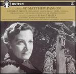 Bach: St. Matthew Passion; Stabat Mater