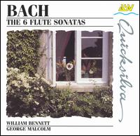 Bach: The 6 Flute Sonatas - George Malcolm (harpsichord); Michael J. Evans (cello); William Bennett (flute)