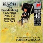 Bach: The Brandenburg Concertos Nos. 1-3; Orchestral Suite No. 1