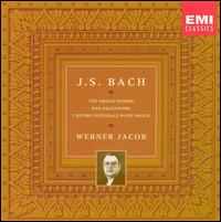 Bach: The Organ Works - Werner Jacob (organ)