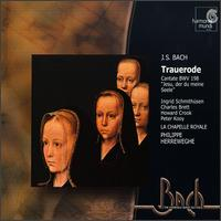 Bach: Trauerode - Charles Brett (alto); Claire Giardelli (cello); Howard Crook (tenor); Ingrid Schmithusen (soprano);...