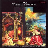 Bach: Weihnachts-Oratorium - Anne Harley (soprano); Elizabeth Anker (contralto); Max van Egmond (bass); Peter Watchorn (organ); Robert Pitcher (tenor);...