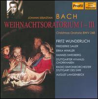 Bach: Weihnachtsoratorium 1-3 (Christmas Oratorio), BWV 248 - Bernhard Michaelis (tenor); Erika Winkler (alto); Friederike Sailer (soprano); Fritz Wunderlich (tenor);...