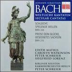 Bach: Weltliche Kantaten, BWV 206, 215