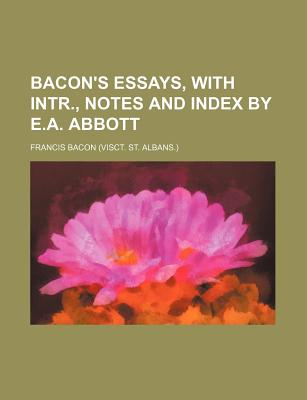 francis bacon essays full text
