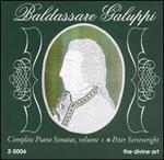 Baldassare Galuppi: Complete Piano Sonatas, Vol. 1