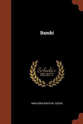 Bambi - Cooke, Marjorie Benton