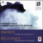 Barber: Adagio for Strings, Op. 11; String Quintet in F major