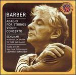 Barber: Adagio for Strings; Violin Concerto